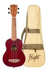 Ukulele Flight NUS380 Coral