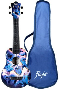 Ukulele Flight TUS40 Graffiti